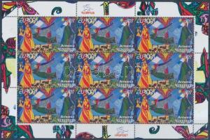Armenia stamp Europa CEPT childrens books minisheet MNH 2010 Mi 713 WS165065