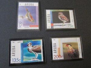 Aruba 2005 SC 268-71 Bird set MNH