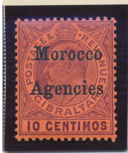 Great Britain, Offices In Morocco Stamp Scott #21, Mint Lightly Hinged - Free...