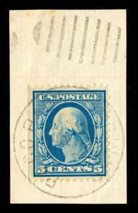 momen: US Stamps #335 Used PAGO PAGO SAMOA Cancel