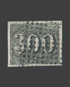 VINTAGE: BRAZIL 1849 USED,BH SCT # C17 $ 119 LT # BR1778