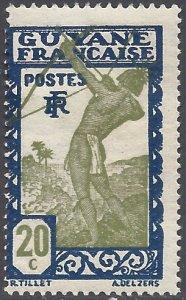 French Guiana 1929 #116 Mint H
