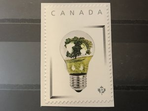 Canada Post Picture Postage Mint NH *Green Bulb Tree* *P* denomination