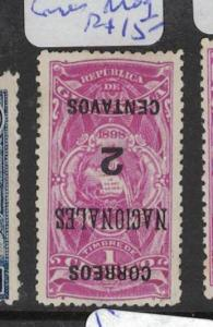 Guatemala SC 93 Inverted Surcharge MOG (4dqn)