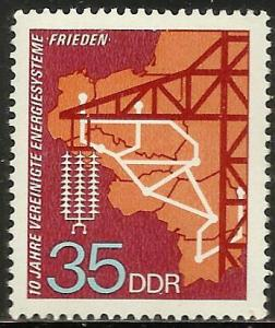German Democratic Republic 1973 Scott# 1484 MNH