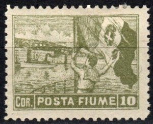 Italy Fiume #53 Unused CV $11.00 (X2374)