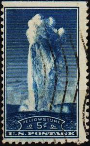 U.S.A. 1934 5c S.G.743 Fine Used