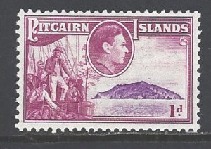Pitcairn Islands Sc # 2 mint hinged (RS)