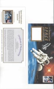 US #2841 plus Mint  #2842, A Tribute to Space Exploration.  Very Low Number #70
