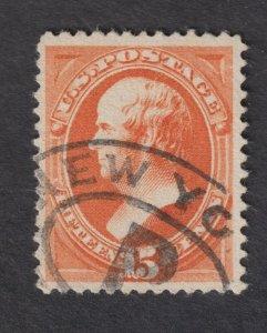 Scott # 189 Used  VF Beautiful Stamp!