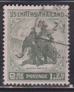 THAILAND Scott # 306 Used - Elephant With Rider