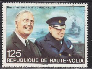 Burkina Faso 349 Sir Winston Churchill 1975
