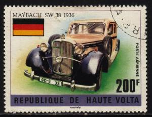 Burkina Faso C207 Old Cars Type 1975