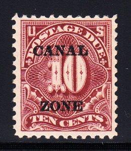 US Canal Zone #J14 VF OG LH Scarce stamp!