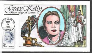 US Collins FDC SC#2749 Grace Kelly