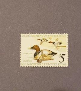RW42, Canvasback Ducks, Mint OGNH, CV $29