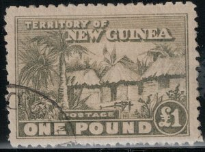 New Guinea 1925-1928 SC 13 Used SCV $325.00