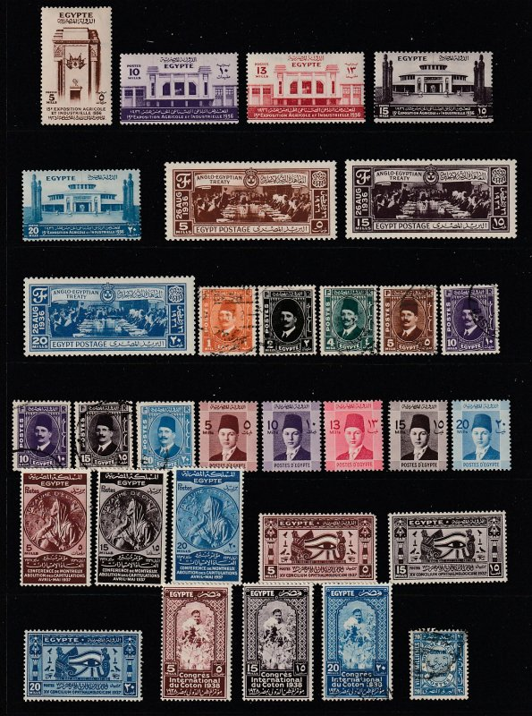 Egypt a M&U lot pre 1950