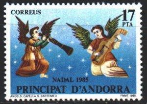 Andorra. 1985. 186. Angels, christmas. MLH.