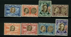 San Marino Scott #C51A - #C51H Complete Set of 8 Mint never Hinged