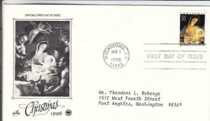 1996, Christmas-MaDonna & Child, Artcraft/PCS, FDC (D15550)