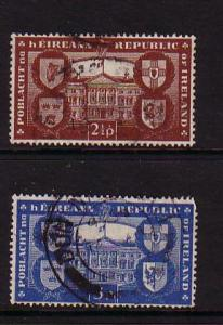 Ireland Sc 139-40 Republic Recognition stamp set  used