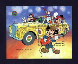 Redonda MH S/S Mickey & Rolls Royce 1990