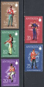 ANTIGUA 283-7 MNH SCV $5.05 BIN $3.00 MILITARY