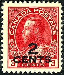 Canada #140 MINT OG LH