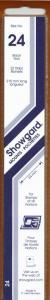SHOWGARD BLACK MOUNTS 215/24 (22) RETAIL PRICE $9.75