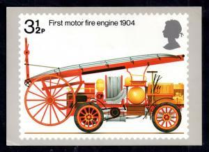 GB 1974 Fire Engine PHQ card used FDI full set WS13626