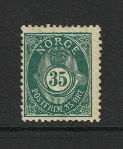 Norway SC# 56a, Mint Hinged, Hinge Remnants, some gum creasing - S9376