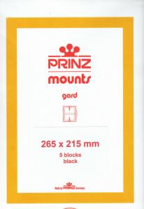 PRINZ 265X215 (5) CLEAR MOUNTS RETAIL PRICE $16.50