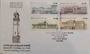 O) 2012 SRI LANKA, HERITAGE, COLONIAL BUILDING, ARCHITECTURE, GALLE FACE HOTEL,