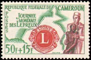 Cameroun #B33-B35, Complete Set(3), Never Hinged
