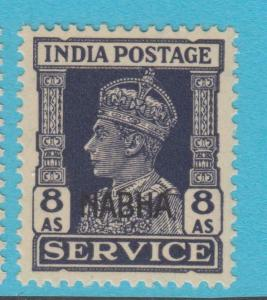 INDIA NABHA O48 MINT NEVER HINGED OG ** NO FAULTS EXTRA FINE !