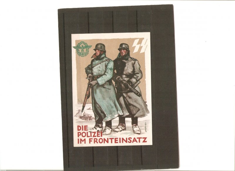 Germany, SS-card for Tag der deutschen Polizei (Day of German police), 1942