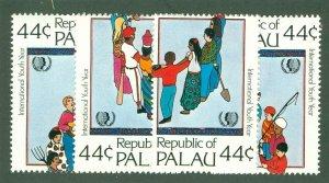 PALAU 86-89 MH CV $3.40 BIN $1.70
