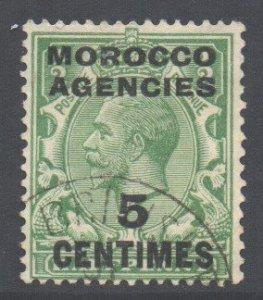 Morocco Scott 411 - SG202, 1925 French 5c used