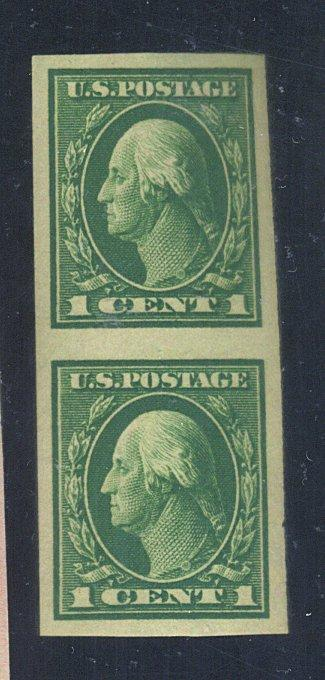 408V MINT Pair VF OG NH Cat$7