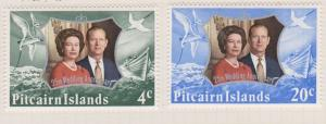Pitcairn Islands Sc#127-128 MH