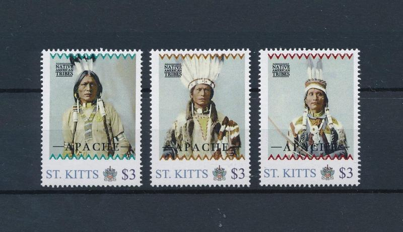 [80923] St. Kitts 2011 Native Americans Indians Apache MNH