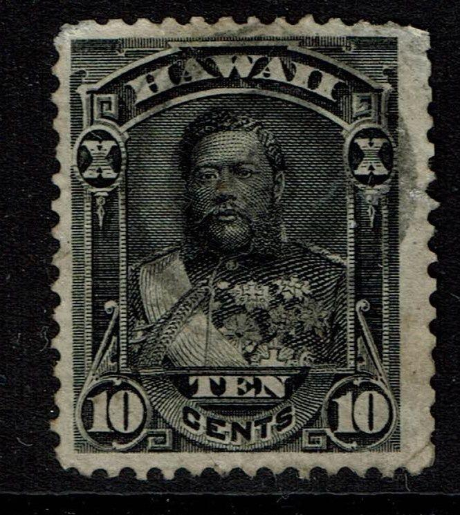 Hawaii SC# 40, Used - Lot 022617