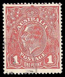 AUSTRALIA 21(var)  Used (ID # 93054)