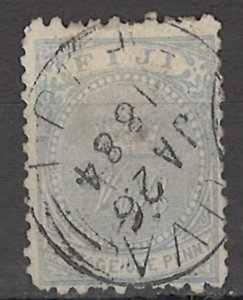 COLLECTION LOT OF # 1655 FIJI # 40 1879