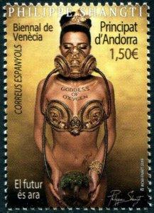 HERRICKSTAMP NEW ISSUES ANDORRA-SPANISH Venice Biennale 2019 - Art Exhibition