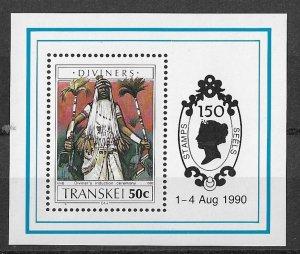 Transkei MNH M/S Diviners 1990