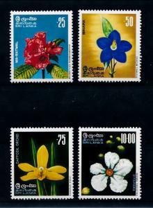 [79716] Sri Lanka 1976 Flora Flowers Blumen Orchids  MNH