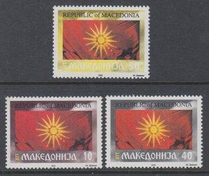 Macedonia 5-7 MNH VF