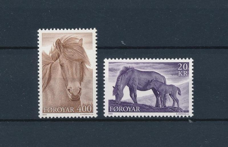 [57801] Faroe Islands 1993 Horses MNH